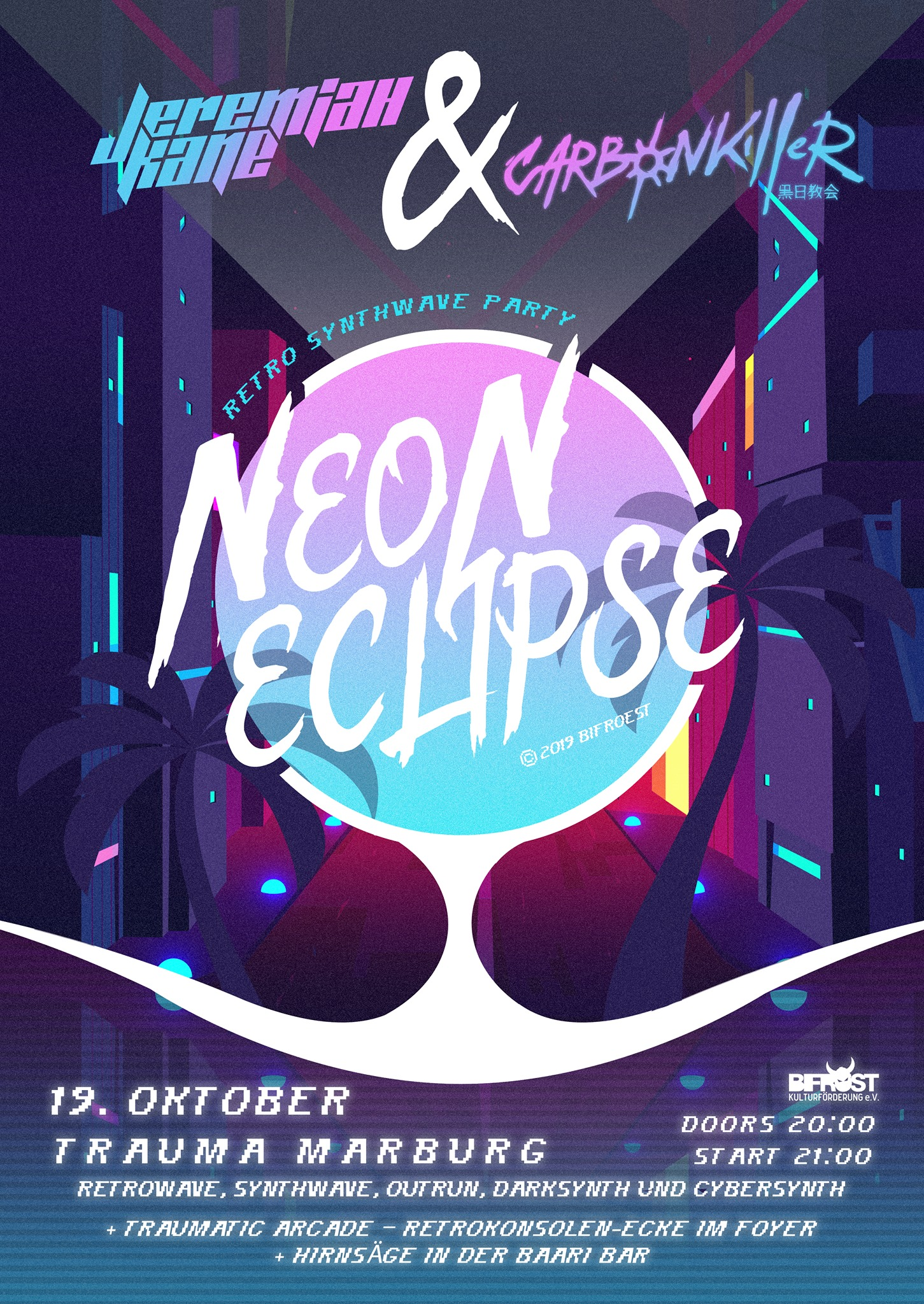 The Rise of the Neon Eclipse