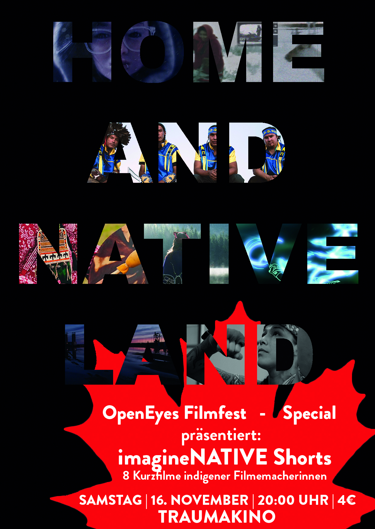 OpenEyes Filmfest - Special | imagineNATIVE Shorts - HOME AND NATIVE LAND